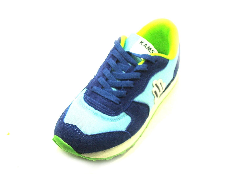 Emmemoda Zapatillas de Lona Para Hombre Blu Azzurro 39 EU