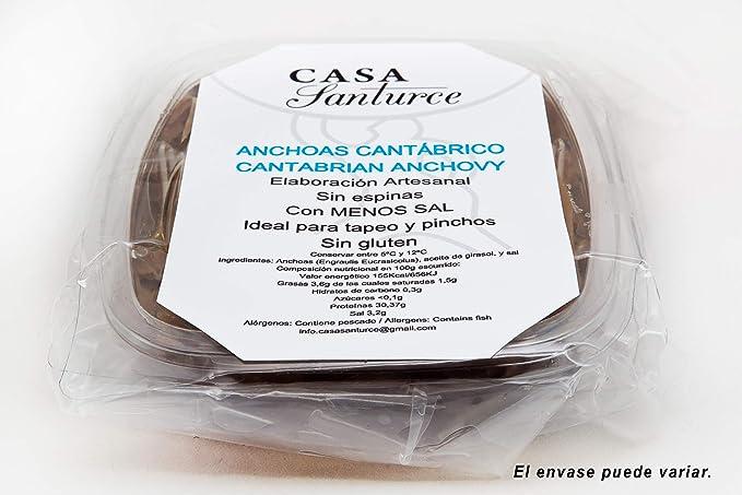 Anchoas del Cantábrico calidad Suprema tamaño 0 (grande ...