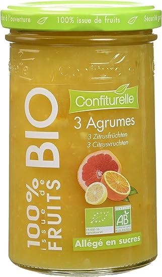 Confiturelle Bio 100% de Fruits 3 Agrumes - Lot de 3: Amazon.fr ...
