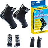 Premium Compression Foot Sleeves with Arch Support For Men and Women, Plantar Fasciitis Socks, Eases Swelling & Heel Spurs, Ankle Brace Support, Increases Circulation