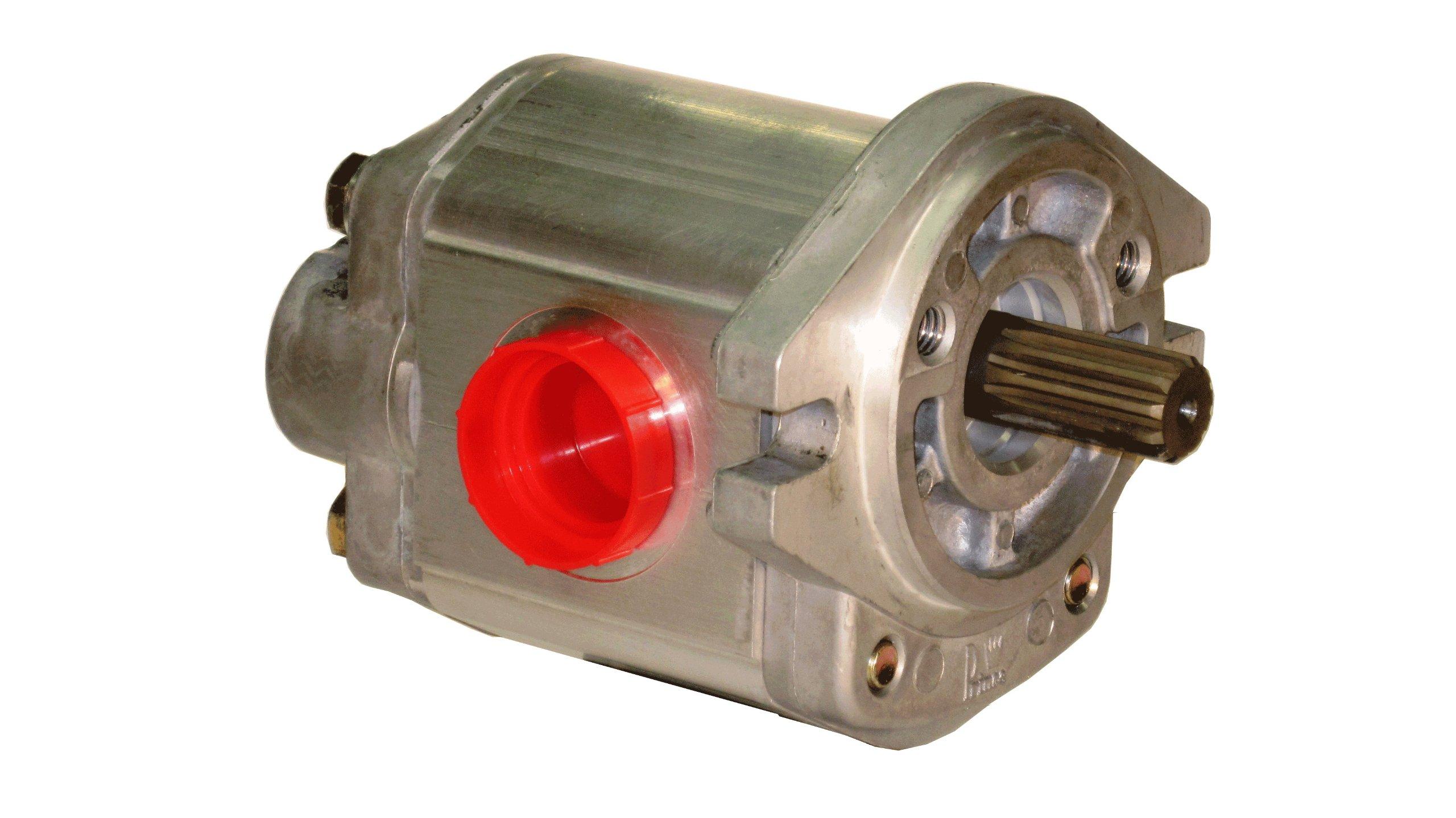 Prince Manufacturing SP20B30A6H5-R Hydraulic Gear Pump, 43.80 HP Motor, 2500 PSI Maximum Pressure, 26.86 GPM Maximum Flow Rate, Clockwise Rotation, Self-Lubricating, SAE A Flange, Aluminum