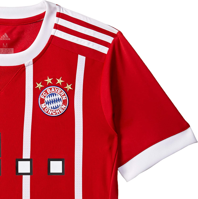 Calcio FC Bayern München Home Replica Jersey Youth 2017/18 ...