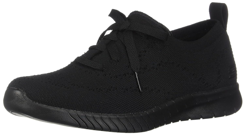 Black Skechers Women's Wave-Lite Fashion Sneakers