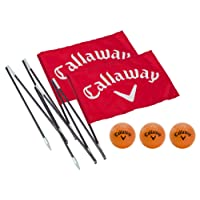 Callaway Back Yard Driving Range Golf Flag Poles - Red