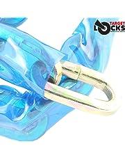 Target Locks - Cadena de Seguridad de Acero Inoxidable, Resistente a Cortes de Sierra, martillazos, y Otros ataques.