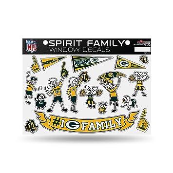 Amazoncom  NFL Green Bay Packers Spirit Family Window Decals - Family window decals