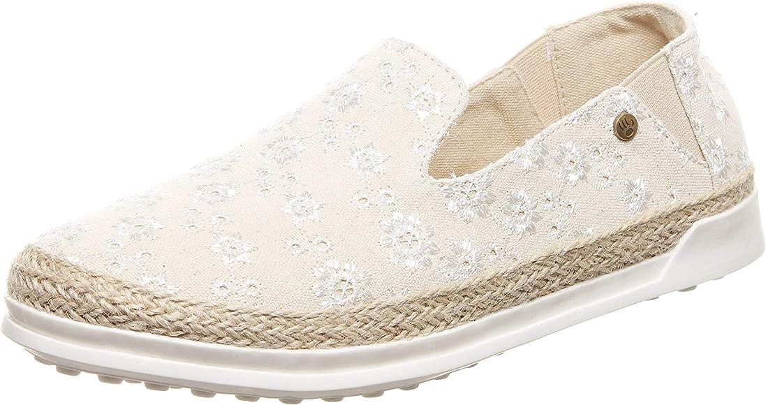 BEARPAW Women's Dixie Sneaker Ivory
