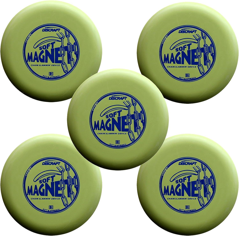 5 Pack Discraft D Soft Magnet max Weight Dark