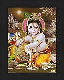 Avercart Lord Krishna / Shree Krishna / Baby Krishna / Bal Krishna / Sri Krishna Poster 5x7 inch (13x18 cm)