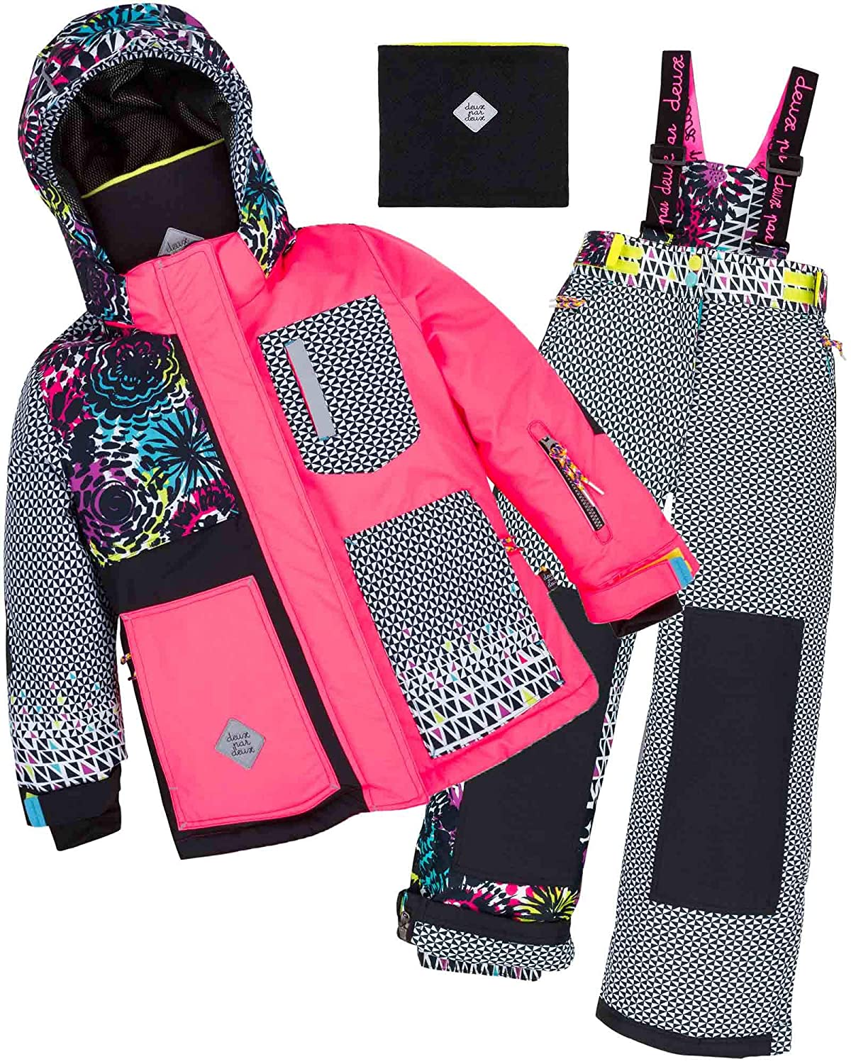 Deux par Deux Girls' 2-Piece Snowsuit Great Escape Sport, Sizes 4-14
