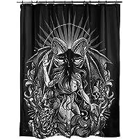 Killstar Satan is A Woman Gothic Occult Satanic Home Decor Shower Curtain