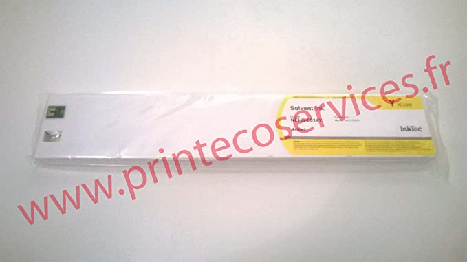 Cartucho Tinta SOLVENTE. AMARILLO 440ml para plóter Mimaki JV33 y ...