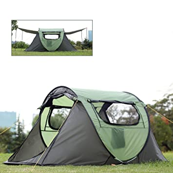 FiveJoy 2 Person Instant Pop Up Dome Tent - Easy Automatic Setup Fast Pitch and  sc 1 st  Amazon.com : quick tents to put up - memphite.com