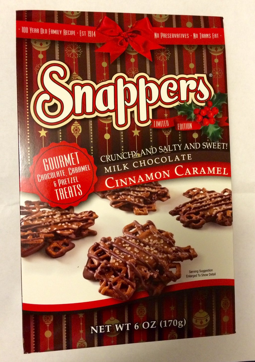 Amazon.com : Snappers Crunchy and Salty and Sweet, Gourmet Milk ...