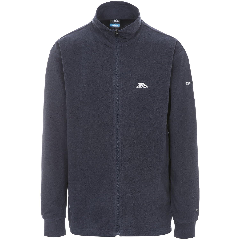 Trespass Mens Ant Full Zip Fleece Jacket