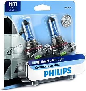 Amazon com: Philips 9004 CrystalVision Ultra Upgrade Bright White