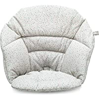 Stokke Clikk Cushion, Grey Sprinkles - Compatible with Stokke Clikk High Chair - Provides Support for Babies - Made with…