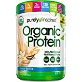 Purely Inspired Organic Protein, Plant Based Protein Powder, French Vanilla, 1.1 Pounds