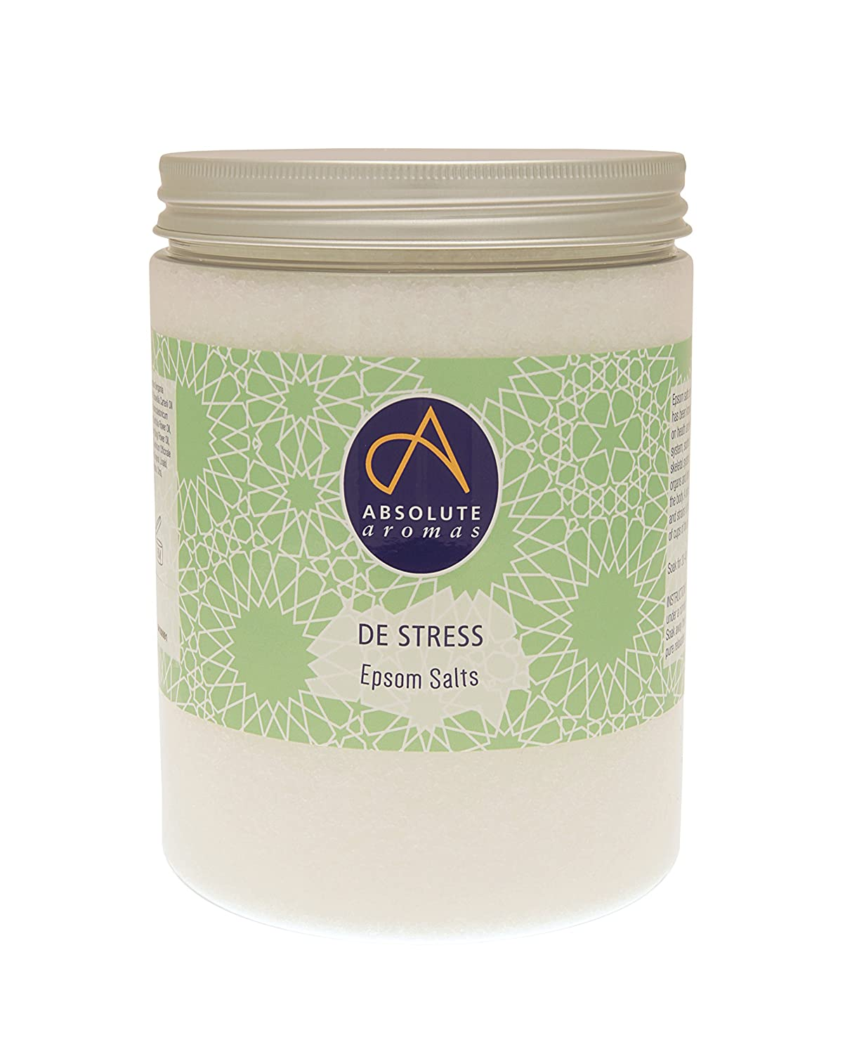 Absolute Aromas De-Stress Epsom - Sal de baño, 1150 g: Amazon.es: Belleza