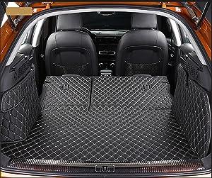 Worth-Mats 3D Full Coverage Waterproof Car Trunk Mat for Landrover Range Rover Sport 2013-2020-Black