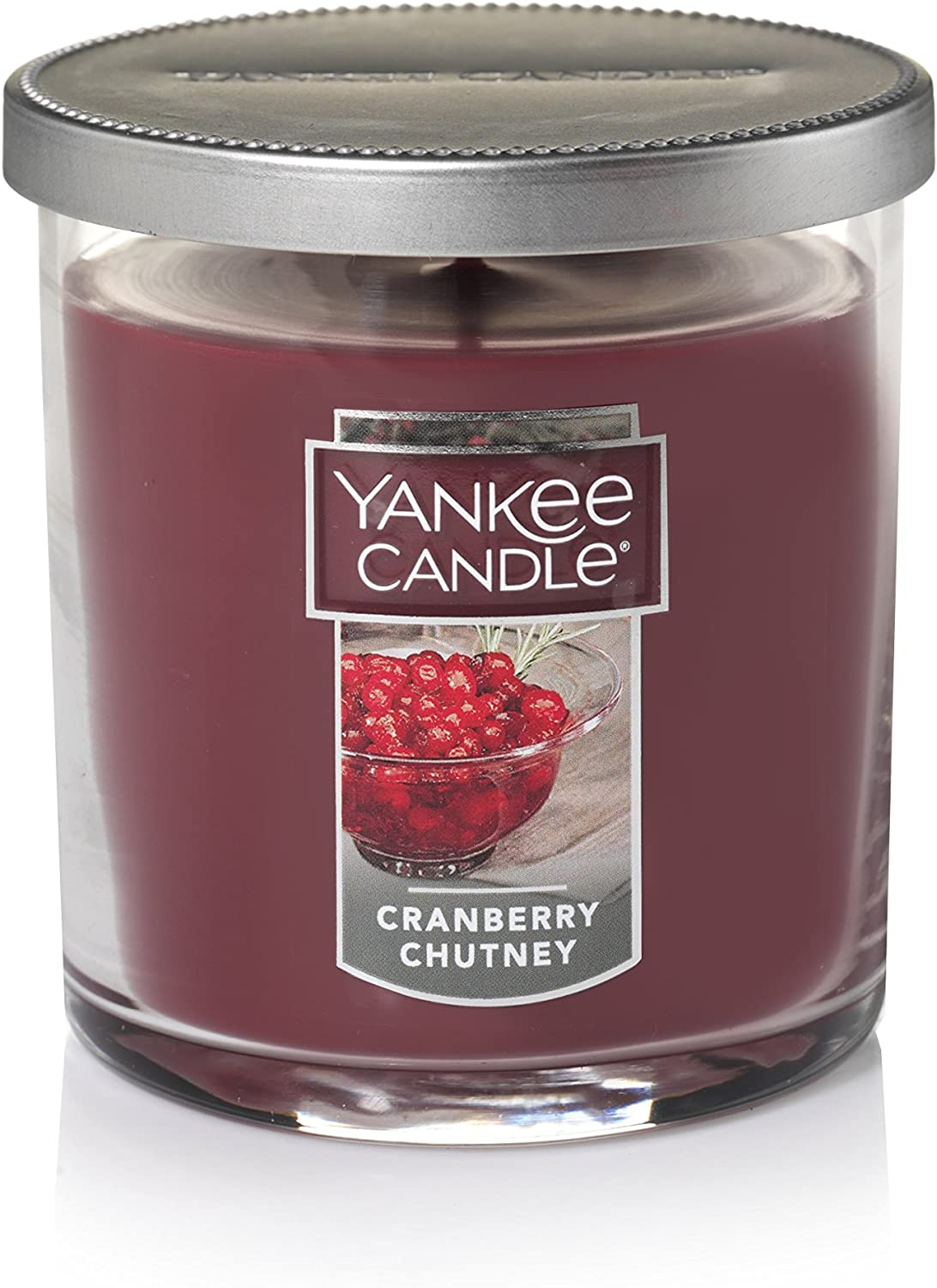Yankee Candle Small Tumbler Candle, Cranberry Chutney