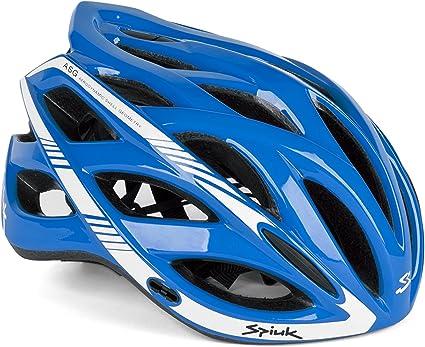 Spiuk Sportline Keilan - Casco, color azul / blanco, talla 57 - 61: Amazon.es: Deportes y aire libre