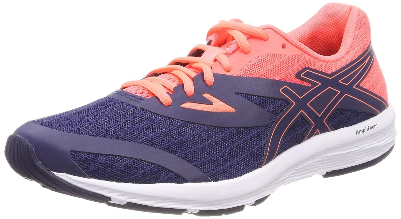 MultiCouleure (Indigo bleuindigo bleu Flash Coral) ASICS Amplica, Chaussures de Running Femme 36 EU