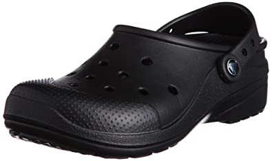 a9e2ff63b4 crocs Unisex Ultimate Cloud Black Rubber Clogs and Mules - M12: Buy Online  at Low Prices in India - Amazon.in