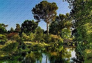 Garden of NINFA 300 Piece Jigsaw Puzzle 20.6 X 15.1'' Basswood Puzzle