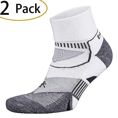 2 Pair Balega Enduro V-Tech Quarter Socks For Men and Women