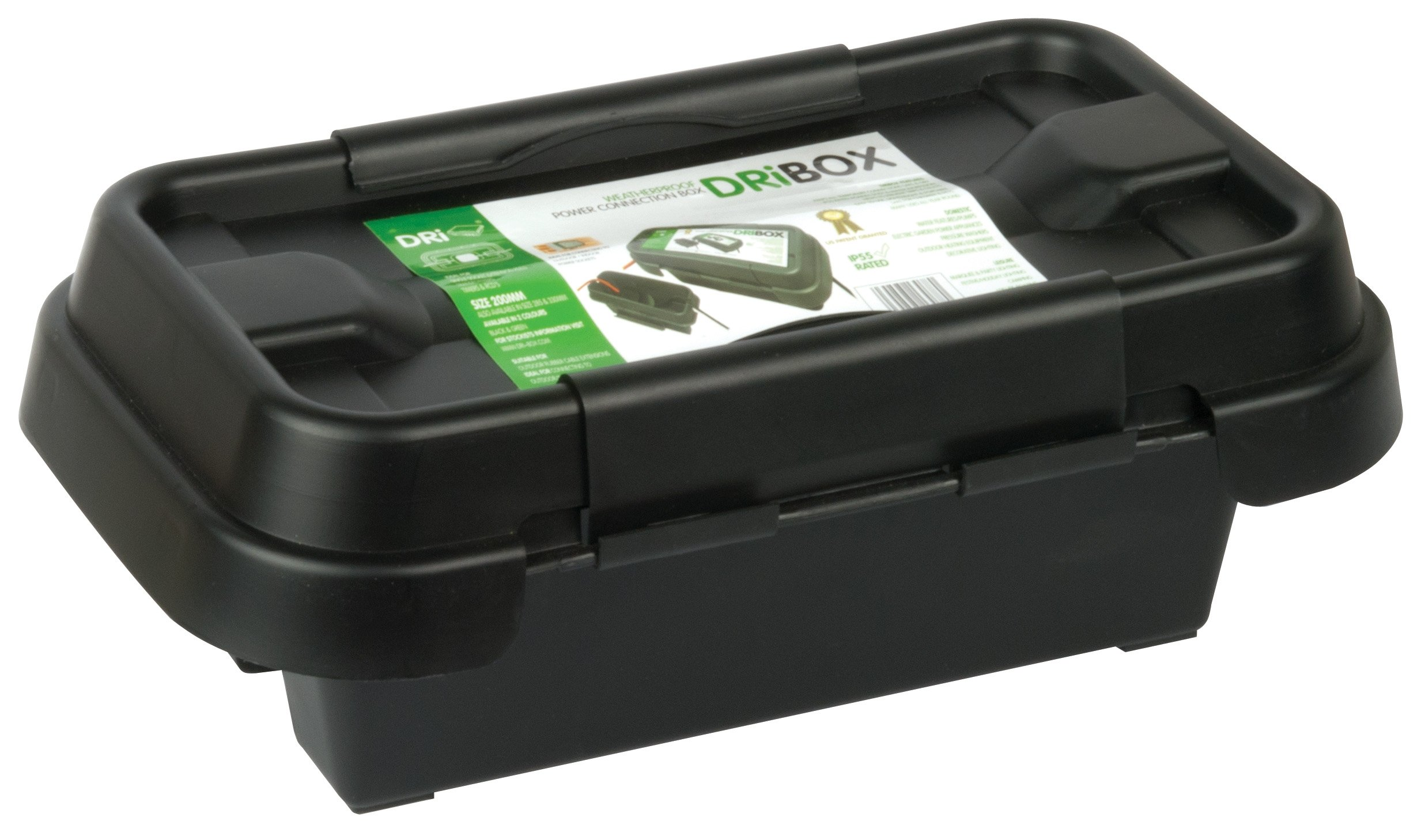 Dri-Box DRiBOX FL-1859-200 IP55 Small Weatherproof Box - Black
