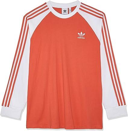 adidas Originals | 3 Stripes rouge Homme T Shirt manches