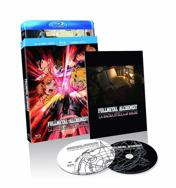 Fullmetal Alchemist The Movie - La Sacra Stella Di Milos Blu-Ray+Dvd Italia Blu-ray: Amazon.es: Kazuya Murata: Cine y Series TV