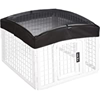 AmazonBasics Plastic Pet Pen Mesh Top Cover