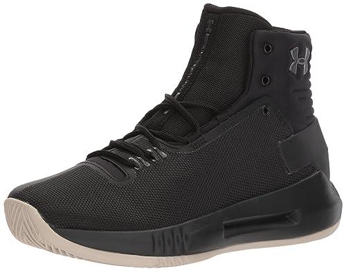 966b4347f61 Under Armour Boys  Grade School Drive 4 Basketball Shoe (001) Black ...