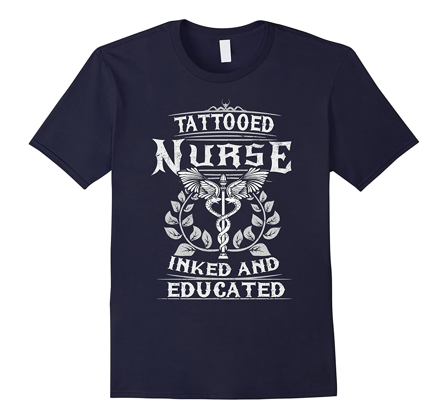 Tattooed Nurse Inked And Educated T-shirt-TH