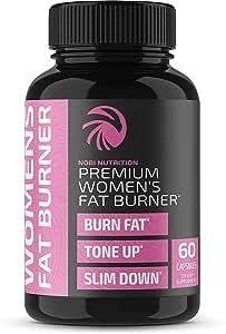Amazon.com: Nobi Nutrition Premium Fat Burner for Women