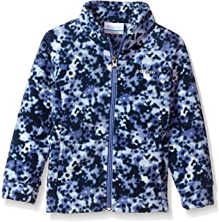Kedera Little Girls Snowsuit Jacket with Scarf Dot Printed Puffer Coat Toddler