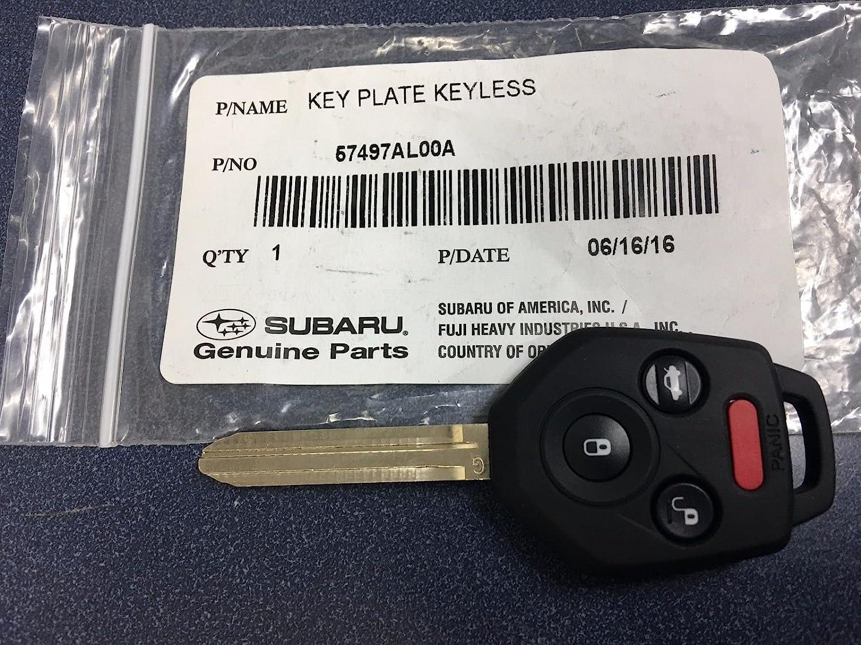 KeylessOption Keyless Entry Remote Car Key Fob for Subaru Forester Outback Legacy Impreza WRX CWTWB1U819