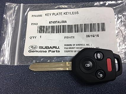 Amazon.com  New Genuine Subaru Replacement Keyless Remote Key Fob ... 506687bbb5