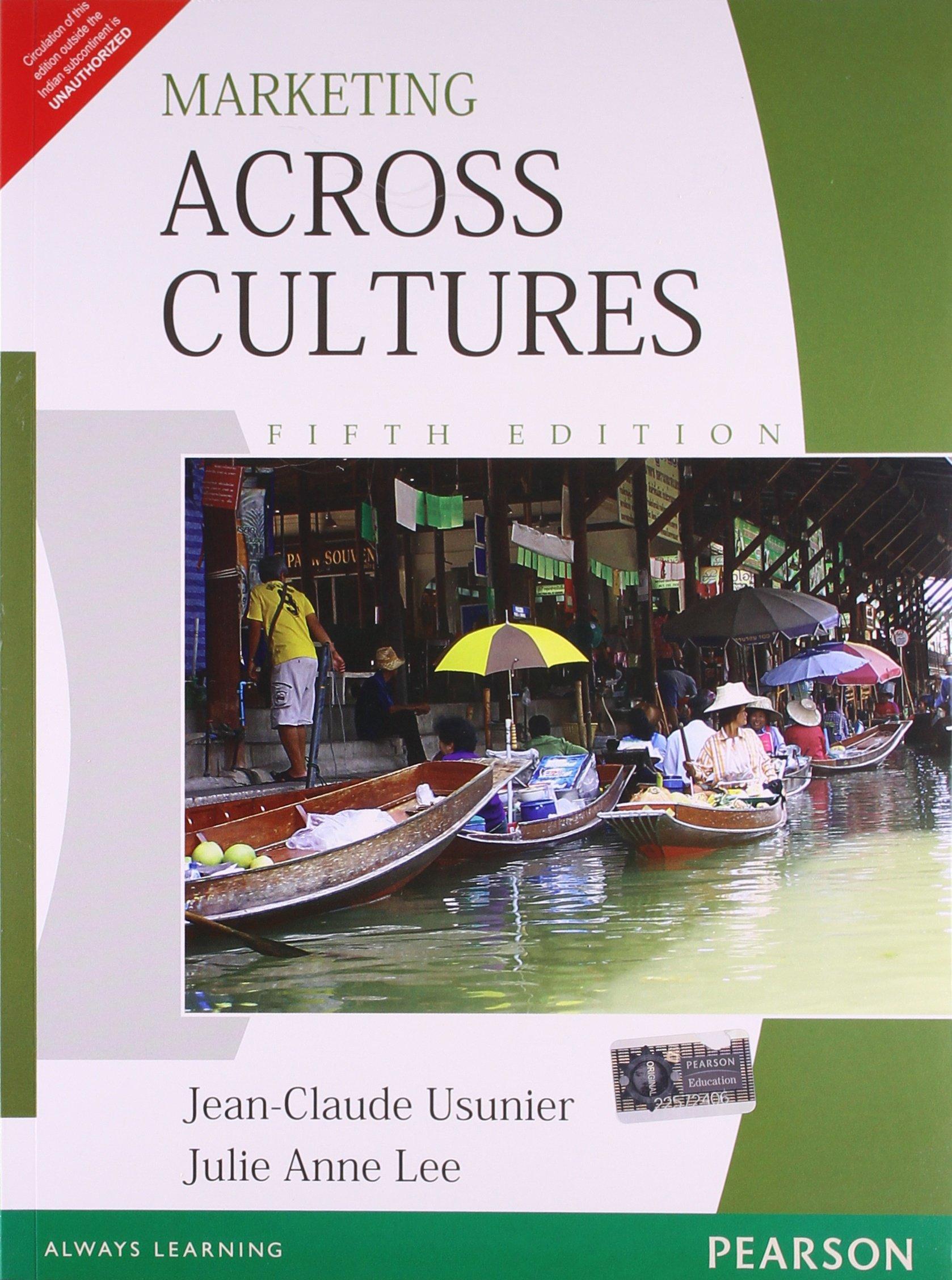 17+ Marketing Across Cultures, 8e Jean Claude Usunier,Julie Lee ... Fotos