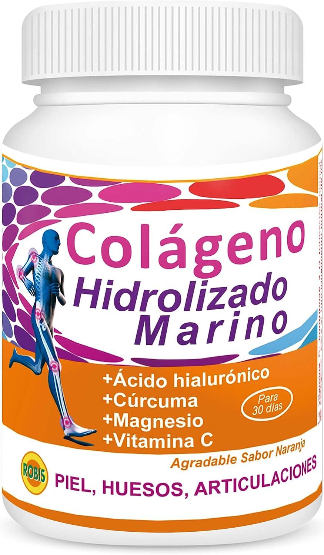 Robis Colágeno Hidrolizado Marino Suplemento Alimenticio - 300 gramos: Amazon.es: Salud y cuidado personal