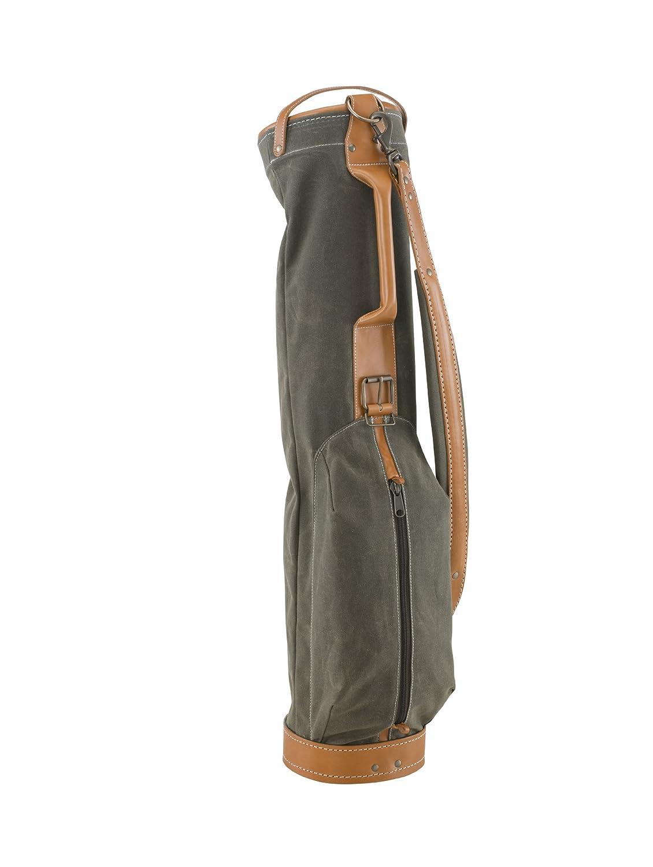 BELDING American Collectionヴィンテージゴルフキャリーバッグ、7インチ、セージ B00HA1KQVK