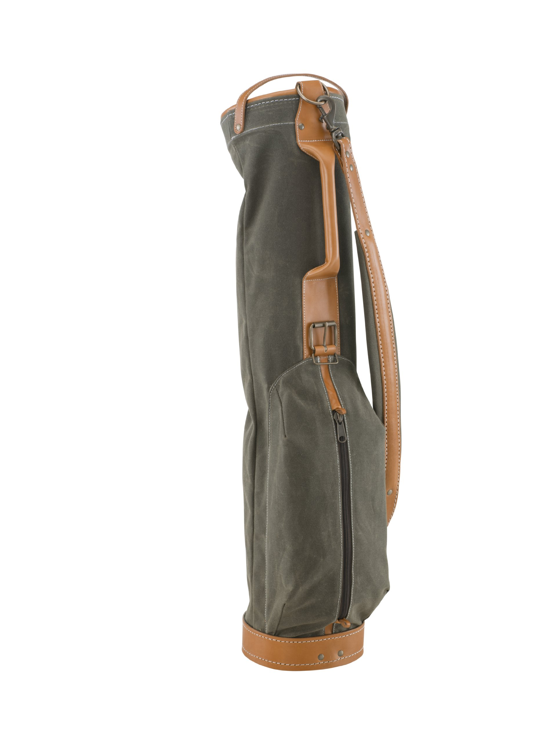 BELDING American Collection Vintage Golf Carry Bag, 7-Inch, Sage by BELDING (Image #1)