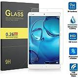 IVSO Pellicola Protettiva Schermo in Vetro Temperato per Huawei MediaPad M3 8.4 Tablet (Tempered Glass - 1 Pack)