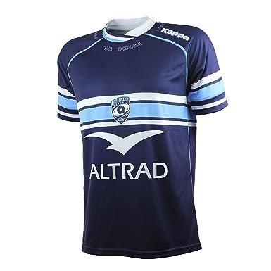 f83b17a02816f Kappa Maillot Rugby Enfant - Montpellier Domicile 2016 2017  Amazon.fr   Vêtements et accessoires