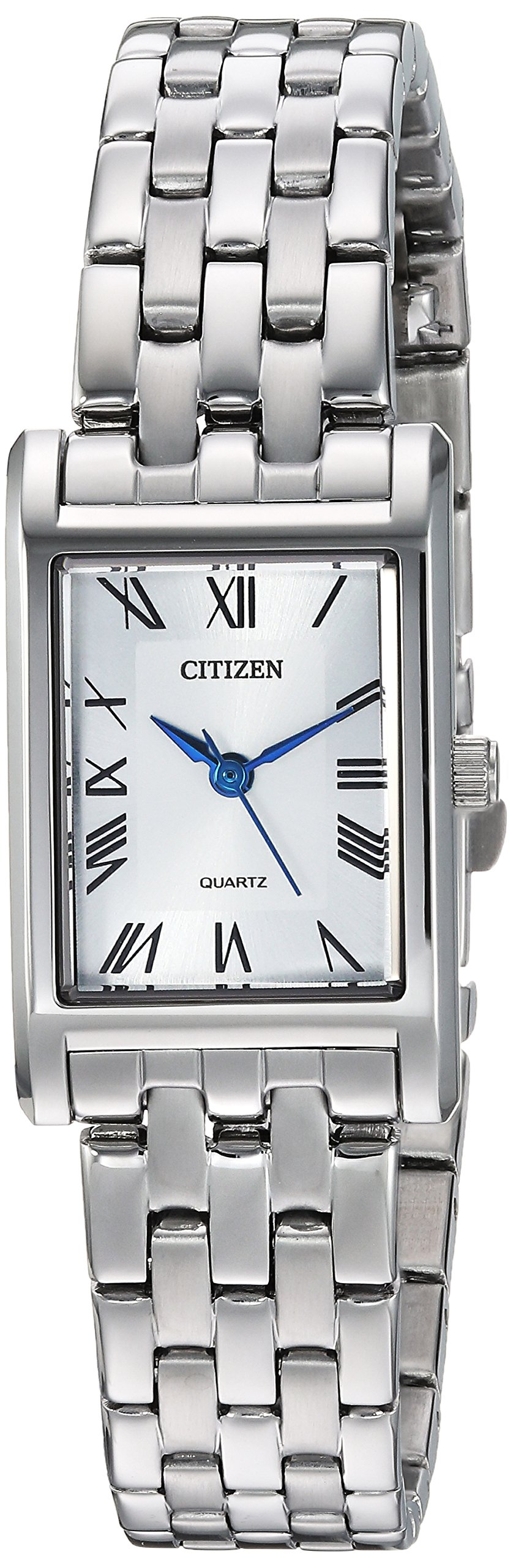 Citizen Women's Quartz Stainless Steel Casual Watch, Color:Silver-Toned (Model: EJ6120-54A)