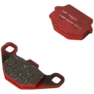 EBC Brakes FA67X Disc Brake Pad Set: Automotive