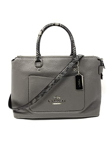 c6a59b276134 Image Unavailable. Image not available for. Color  COACH EMMA SATCHEL ...