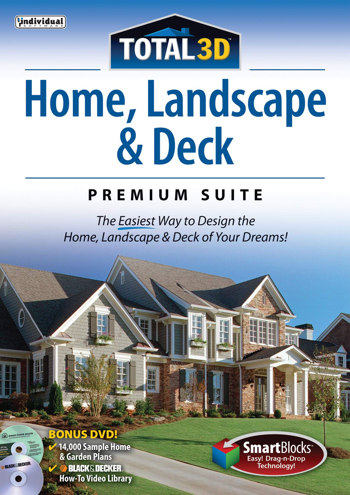 Total 3D Home, Landscape & Deck Premium Suite 12 [PC Download] by Individual Software